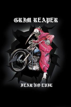 Camiseta Grim Reaper Fear No Evil