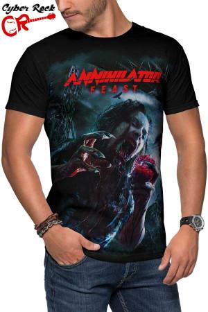 Camiseta Annihilator Feast
