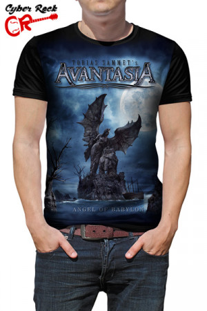 Camiseta Avantasia Angel of Babylon