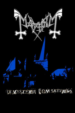 Camiseta Mayhem De Mysteriis Dom Sathanas