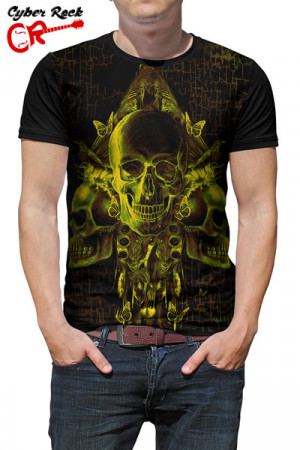 Camiseta Skulls Three