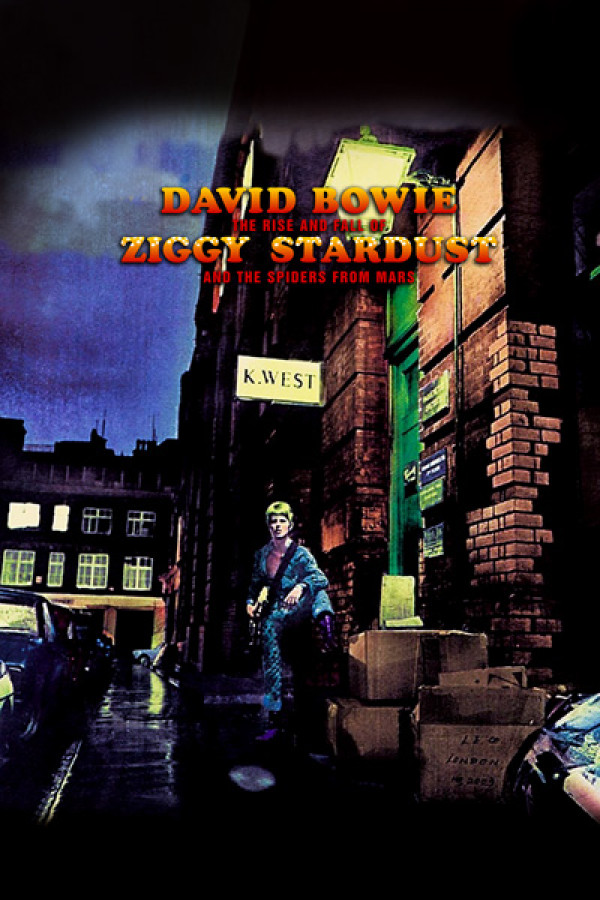 Regata David Bowie - Ziggy Stardust
