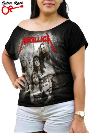 Blusinha metallica exclusiva