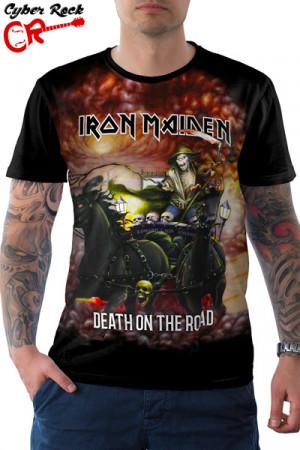 Camiseta Iron Maiden Death on the Road
