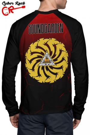 Camiseta Raglan Soundgarden Badmotorfinger Manga Longa