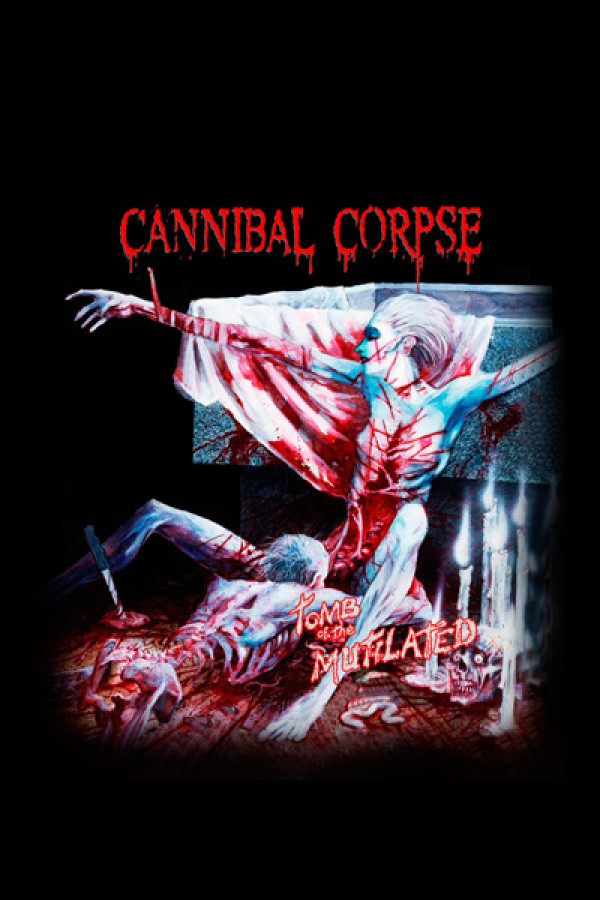 Camiseta Cannibal Corpse - Tomb Of The Mutilated
