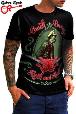 Camiseta Chuck Berry Rock Roll