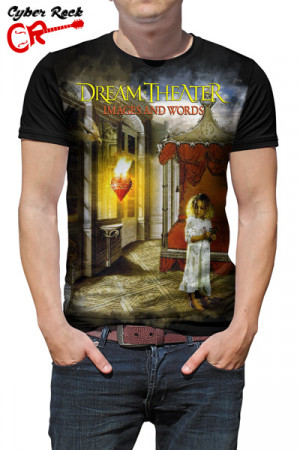 Camiseta Dream Theater Images and Words