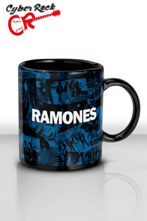 Caneca Ramones preta