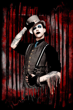 Arte Marilyn Manson