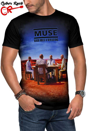 Camiseta Muse Black Holes and Revelations