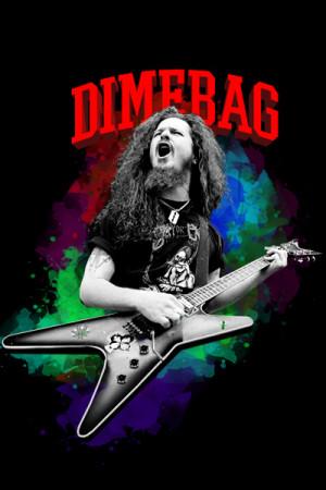 Camiseta Dimebag