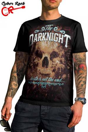 Camiseta Skulls The Darknight
