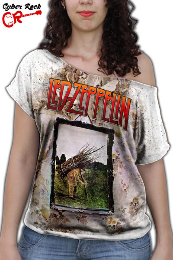 Blusinha Led Zeppelin IV branca