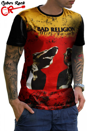 Camiseta Bad Religion Recipe for hate