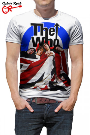 Camiseta the who II branca