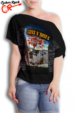 Blusinha Guns n Roses Appetite Destruction