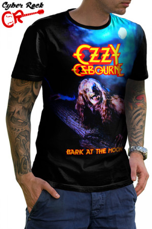 Camiseta Ozzy Osbourne Bark at the Moon