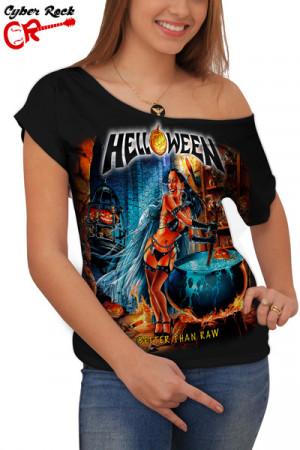 Blusinha Helloween - better than raw