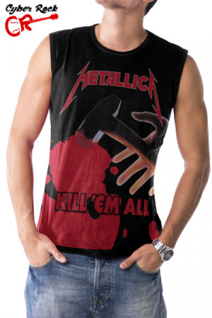 Regata Metallica Kill 'Em All