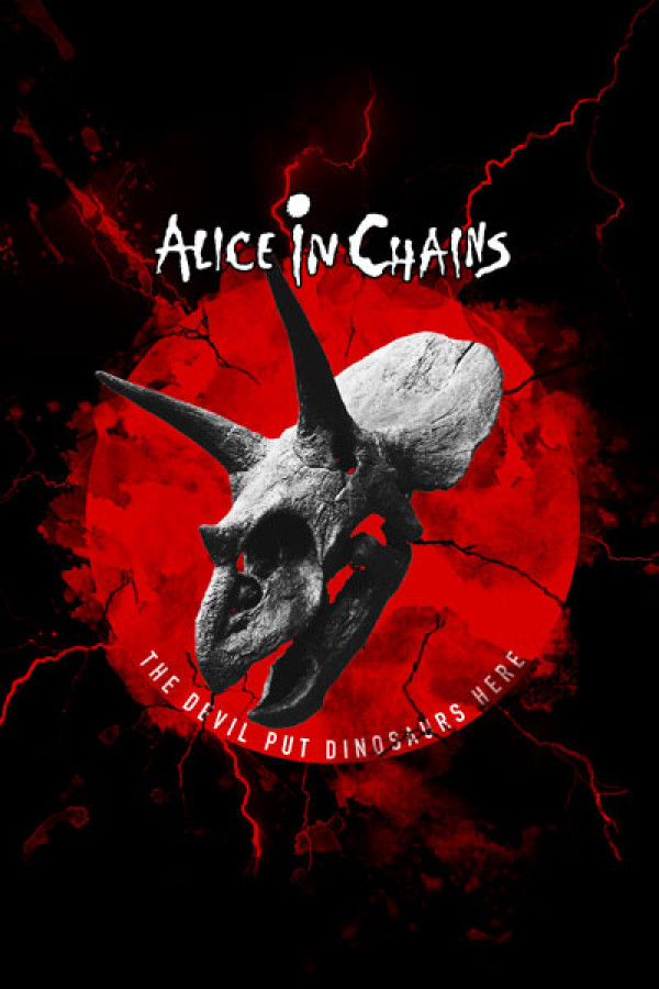 Camiseta Alice In Chains The Devil Put Dinosaurs Here