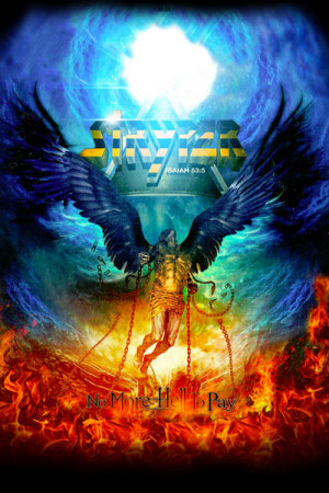 Camiseta Stryper no More Hell to Pay