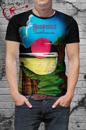 Camiseta Hawkwind Warrior
