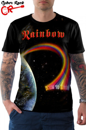 Camiseta Rainbow Down to Earth