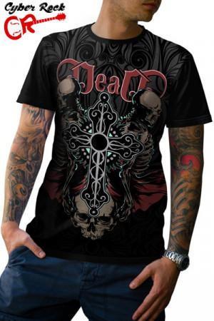 Camiseta Skulls Dead
