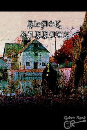 Almofada Banda Black Sabbath Album 1970