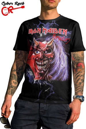 camiseta Iron Maiden Purgatory