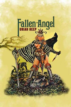 Camiseta Uriah Heep Fallen Angel a