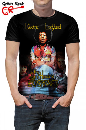Camiseta The Jimi Hendrix Eletric Ladyland