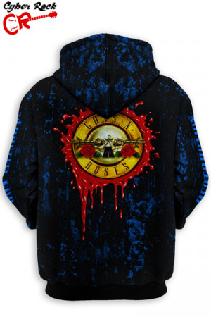 Blusa Moletom Guns N' Roses
