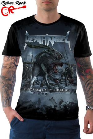 camiseta Death Angel the Dream Calls for Blood