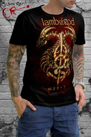 Camiseta Lamb of God Wrath