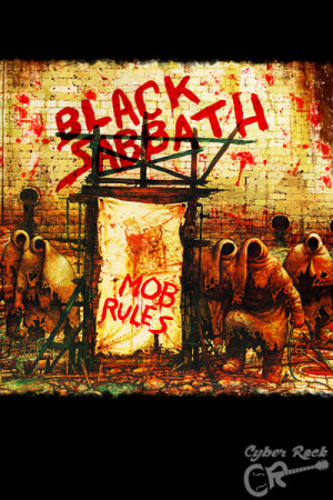 Almofada Black Sabbath Mob Rules