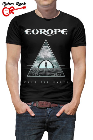 Camiseta Europe Walk the Earth