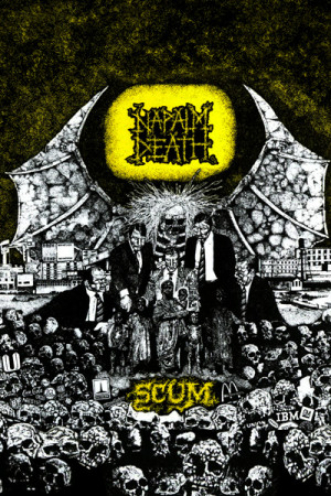 Camiseta Napalm Death Scum
