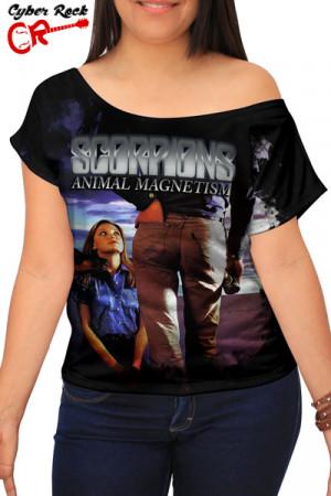 Blusinha Scorpions Animal Magnetism