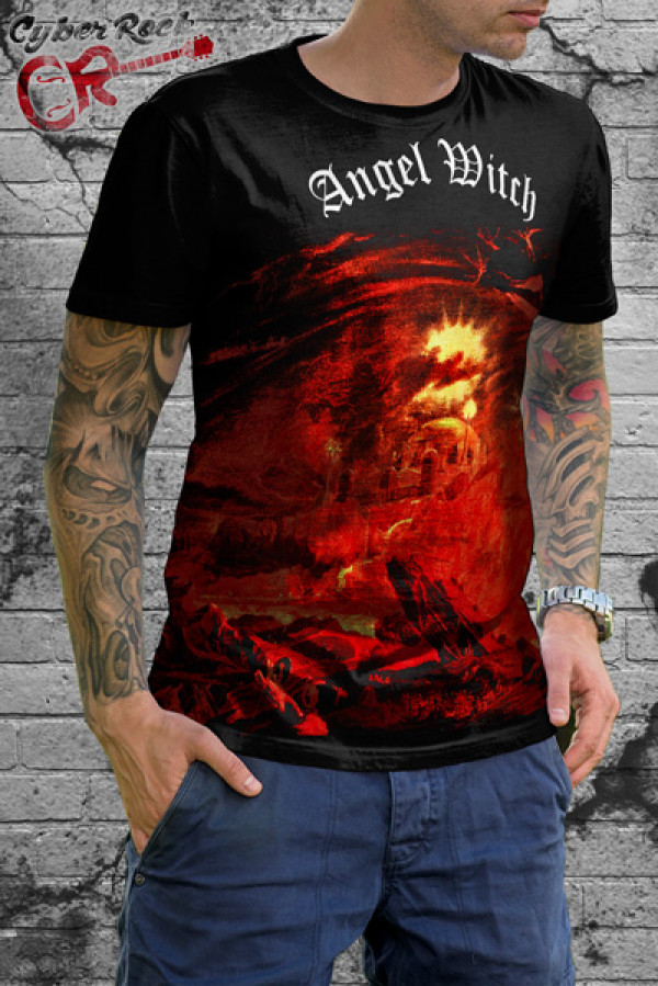 Camiseta Angel Witch