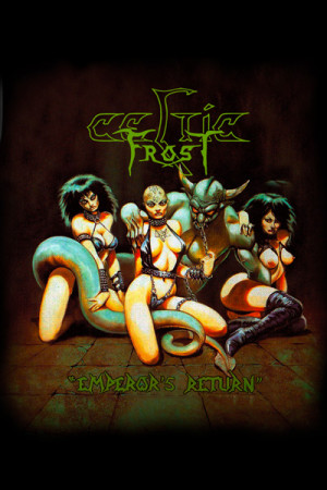 Camiseta Celtic Frost Emperor's Return