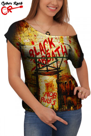 Blusinha Black Sabbath Mob Rules