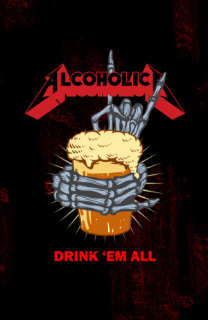 Blusinha Rock Beer Alcoholic Drink em All
