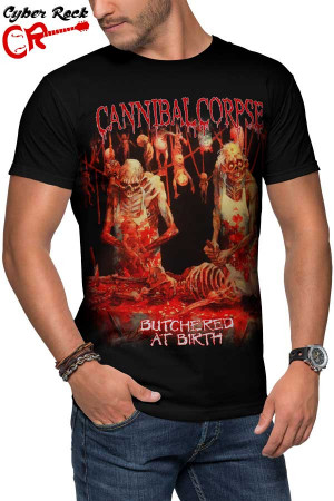 Camiseta Cannibal Corpse Butchered at Birth