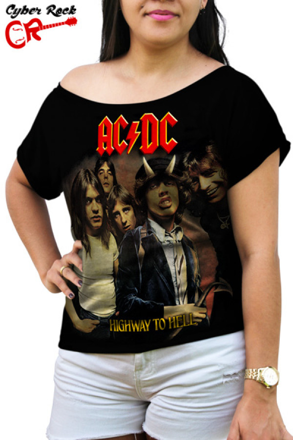 Blusinha  AC/DC Highway To Hell