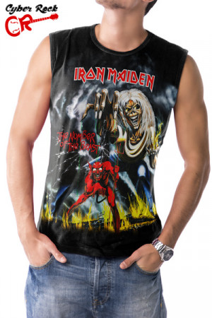Regata Iron Maiden - The Number of the Beast