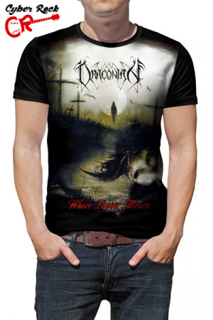 Camiseta Draconian Where Lovers Mourn