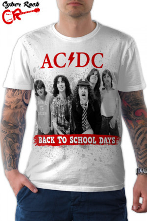 Camiseta AC DC Back To School Days