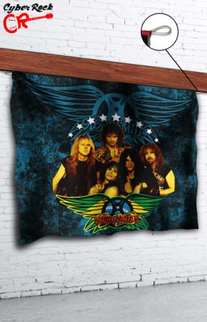 Bandeira Aerosmith Rock in Rio